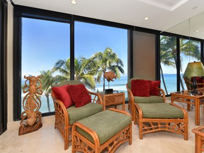 Photo for ~~Mahana 505 Oceanfront Condo~~Sunsets In Paradise~~