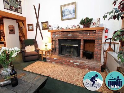 Photo for Ski On/Ski Off Private Home w/ hot tub and fireplace. Great for couples