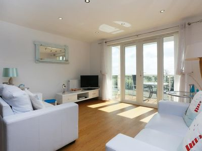 Photo for BOURNECOAST: APARTMENT - STUNNING PANORAMIC VIEWS from SEAFRONT BALCONY - FM2775