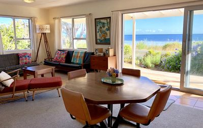 Open plan living views from Separation point to Farewell Spit