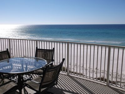 Photo for Come Relax And Enjoy A Beachfront Condo On The White Sandy Shores On The Gulf!