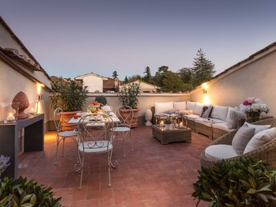 Photo for CASA LAURA CASA LAURA UNWIND YOURSELF ON A LUXURY TERRACE IN LUCCA TOWN