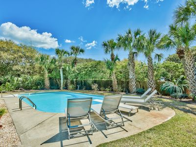 Photo for WOW! Beach House With Private Pool! Easy Walk to Beach, Along 30A!