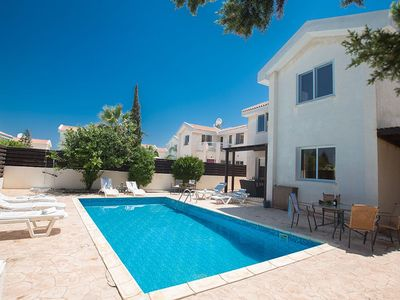 Photo for Villa Protaras Eos, Modern 3BDR Protaras Villa with Pool, Short Walk to all beach+resort centre