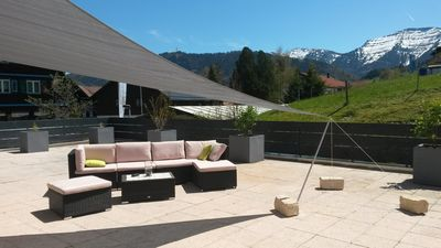 Photo for Top Sunspot - 3 bedroom apartment, large sun terrace, Oberstaufen Plus incl.