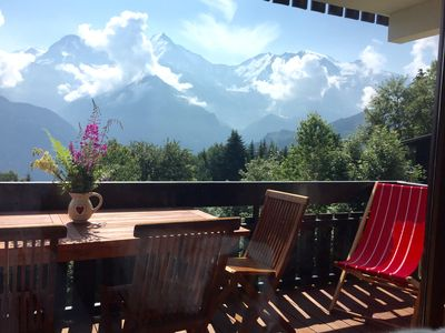 Photo for Feet of the slopes Bettex 1400m, chalet atmosphere, 35m2 renovated