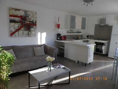 Photo for Studio T2 ground floor in villa 1 km from Sartène access swimming pool