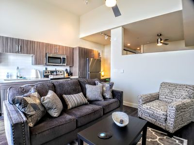 Photo for 303-Amazing Pool ✔️Light Rail✔️NEW CONSTRUCTION✔️King Bed✔️Military Disc