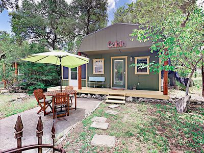 Photo for Secluded Cabin-Style Studio w/ Patio – Surrounded by Walking Trails