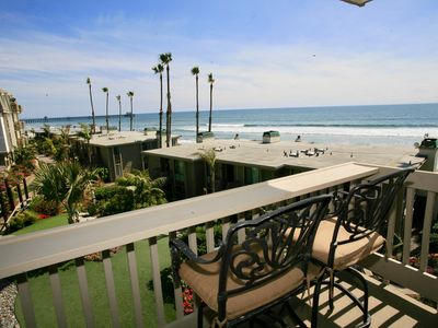 Photo for *NEW LISTING* Front Row Ocean View. Studio, Luxury Remodel. E210 - Starfish Studio