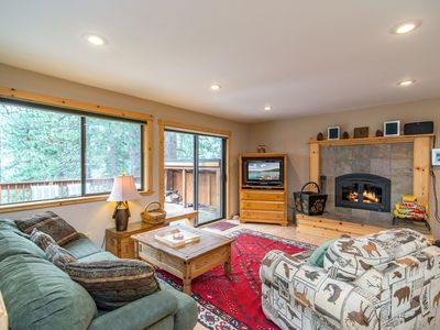 Living Area - Welcome to Truckee! This home is professionally managed by TurnKey Vacation Rentals.