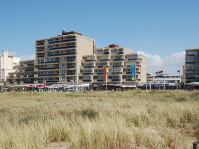 Photo for Lovely apartment with sea views on the boulevard of Noordwijk