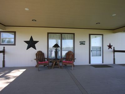 Photo for 3BR Cabin Vacation Rental in Graford, Texas