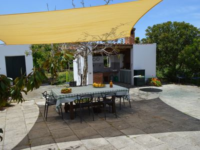 Photo for Authentic Sicilian country house with vegetable garden and garden, access to the sea at km1.