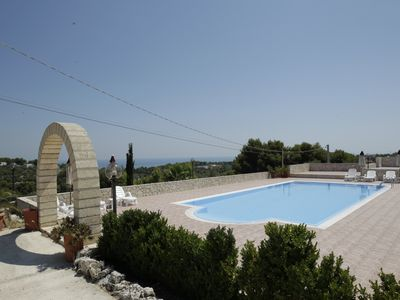Photo for Villa Hibiscus - Panoramic studio for 2 people in villa with swimming pool