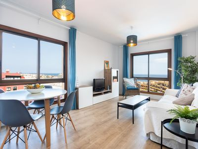 Photo for Beautiful duplex a few steps from the sea, with a large terrace and pool