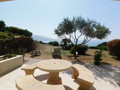 Photo for Apartment T2 - 4 people - Exceptional sea view - terrace + garden