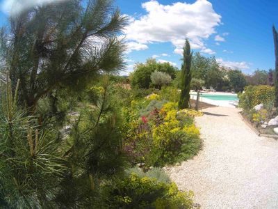 Photo for Mas Molines, Gîte l'Amandier, Rental with garden, swimming pool.