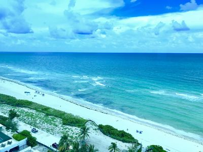 Photo for Amazing Ocean View, FREE Valet Parking, Pool, Beach Access 4 people