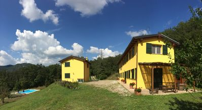 Photo for Hilltop Villa Hideaway With Pool Sleeps 6 - Between Bologna and Florence