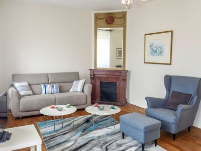 Photo for Beautiful apartment for 6 guests with WIFI, TV and balcony