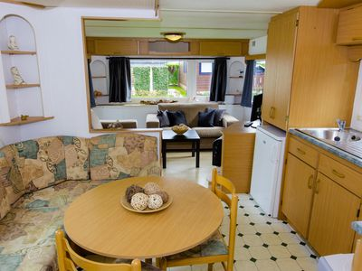 Photo for Mobile home at the 5-star Park Roompot Beach Resort - Free WIFI / Wi-Fi