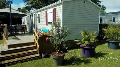 Photo for RENT MOBILHOME ULTRA EQUIPPED 6pers camping LAYOLE ****