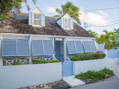 Photo for Charming Bahamian Property w/ Main House, Guest Cottage, Pool, Generator in town