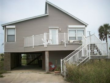 Private Pensacola Beach House - 1 block from beach with Gulf view!