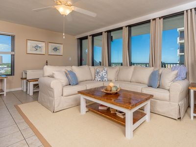 Photo for BEACH VIEW ! 3 BR 2 BA ! Island Winds West in Gulf Shores