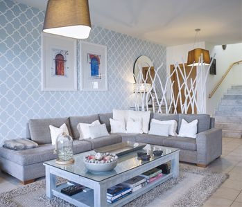 Luxurious Living Room at VLK, Rhodes
