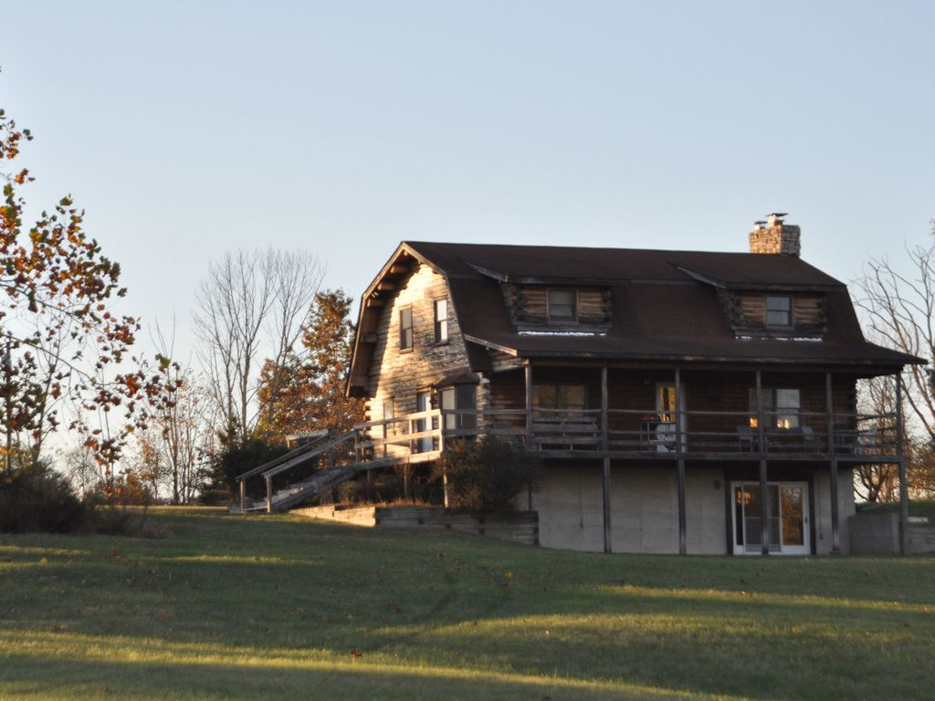 Private Secluded Log Home On Acre HomeAway Wallkill - And architectural cottages on secluded private pond homeaway