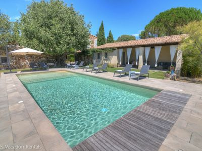 Photo for Gorgeous property in a calm village with plenty of space & heated pool