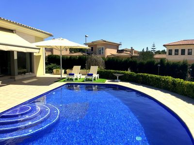 Photo for Modern luxury estate Bellviure near Marratxi with private salt water pool