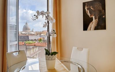 The Vatican Dome from our windows
