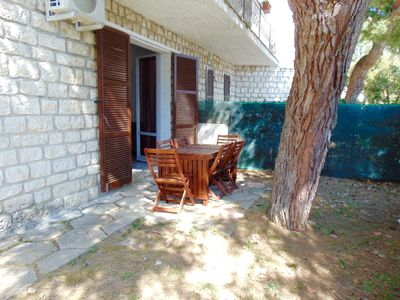 Photo for M81 - Marcelli, three-room apartment with garden at the Residence MareVerde