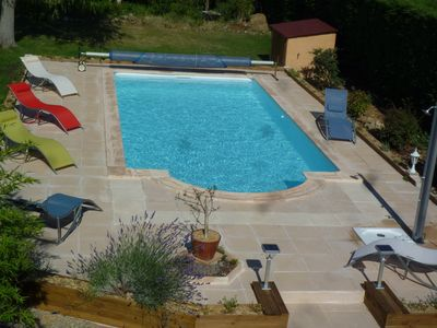 Photo for Villa with private pool, large garden and Canal du Midi
