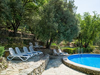 Photo for Stone Bastide - isolated - Provençal authenticity - pool - views