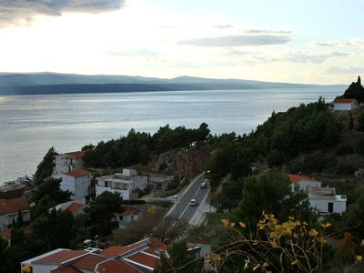 Photo for Three bedroom apartment with terrace and sea view Mimice (Omiš)