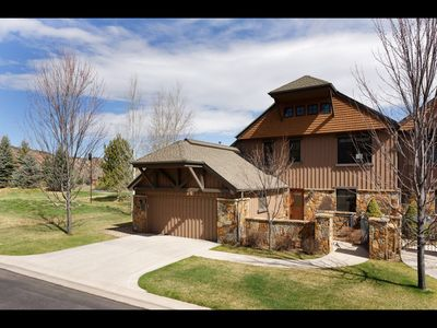 Photo for Group friendly townhome close to skiing - golf - fishing