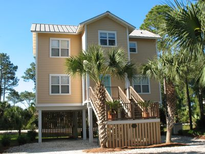 Photo for Indian Pass Beach House with Pool & Beach Boardwalk