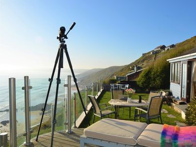 Photo for 1 bedroom Log Cabin in Whitsand Bay - 74824