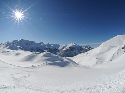 Photo for Maxi studio of 4pers at SIRAC B - resort center in Orcières Merlette - Southern Alps