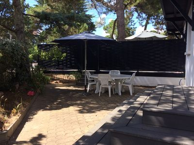 Photo for Renovated villa, 200 m from the beach, close to shops, beach club, park, tennis.