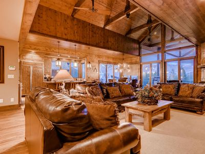 Photo for Lumber Jack Lodge: True Ski-in/Out, Private Hot Tub, Pool Table, Shuttle
