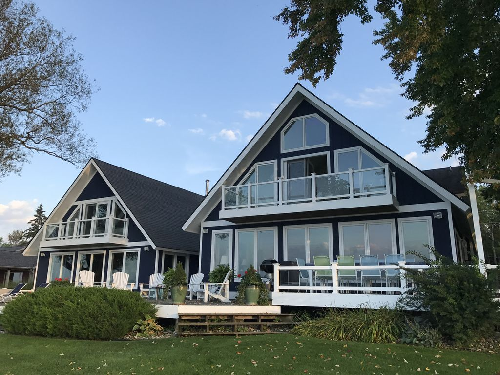 Crooked Lake Waterfront Accueil de luxe - Homelidays