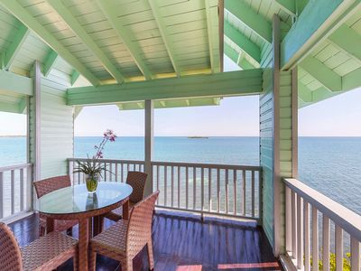 Photo for NEW LISTING! Luxurious, waterfront suite w/ amazing views & private beach access