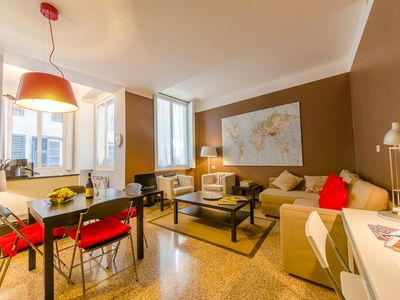 Photo for Rolli 42 apartment in Genoa with WiFi.