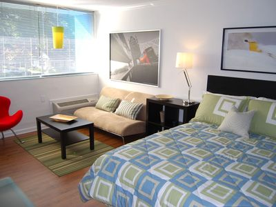 Photo for Cool Classic Studio Apartment (D) No Extra Fees! - Includes Weekly Cleanings w/ Linen Change