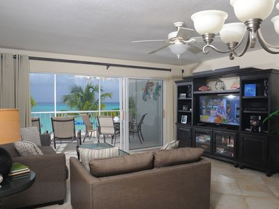 Photo for Fully Renovated, Breathtaking on 7 mile beach Discovery Point Club #14